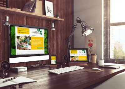 Food and Produce Delivery Website Design Uganda