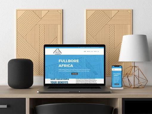 Construction Website Design – Fullbore Africa