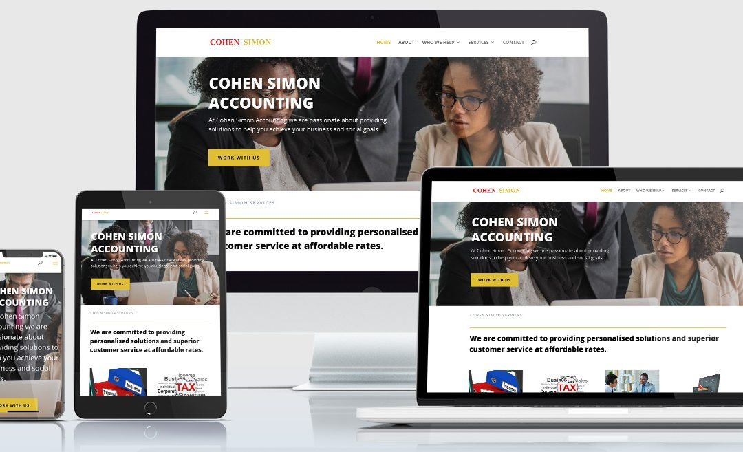 Uganda Accounting Firm Website – Cohen Simon Accounting