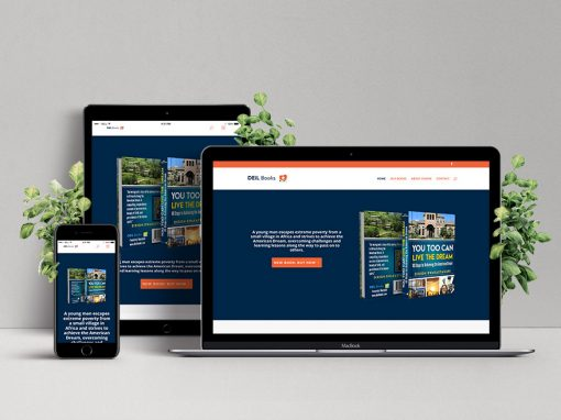 Ugandan Author Website Design – Dixion Rwakasyaguri